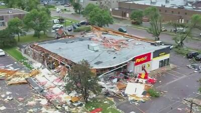 Una ola de tornados vuelve a golpear Dakota del Sur por segundo día consecutivo