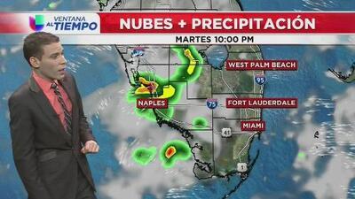 Ventana al Tiempo: Así estarán las condiciones climáticas durante este martes en Miami