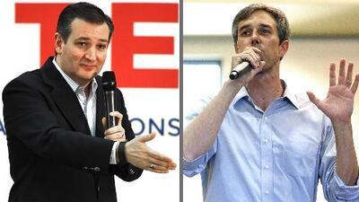 Ted Cruz y Beto O'Rourke confirman participación en tres debates, uno de los cuales será en Houston