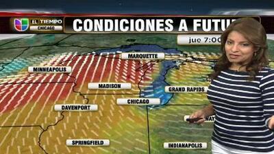 Clima para el viernes en el área de Chicago