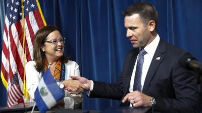 ¿En qué consiste el acuerdo entre el gobierno de Donald Trump y El Salvador para recibir a solicitantes de asilo?