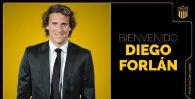 Bomba Carbonera; Diego Forlán, nuevo DT de Peñarol