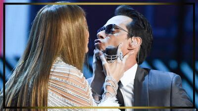 JLo y Marc Anthony se quieren aunque no estén juntos (mira su último beso en público)