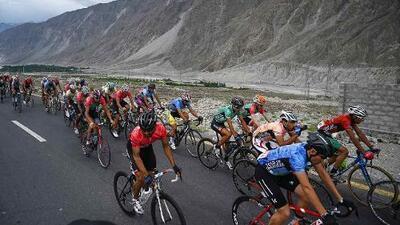 El 'Tour de lo Imposible', a cinco mil metros de altura, se corre en Pakistán