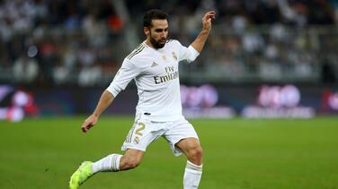 Dani Carvajal no jugará lo que resta de temporada con el Real Madrid