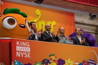 Las figuras de Candy Crush en la Bolsa de NY