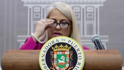 Gobernadora declara estado de alerta nacional en Puerto Rico