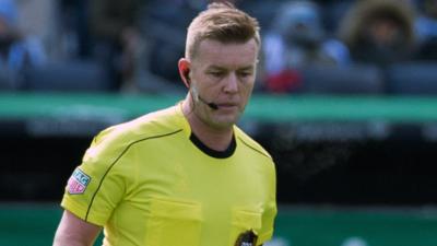 El irlandés Alan Kelly fue elegido como el Árbitro del Año 2018 en Major League Soccer