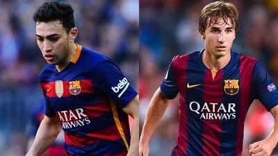 El Barcelona anunció las renovaciones de Munir y Sergi Samper