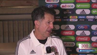 Juan Carlos Osorio habla previo al encuentro entre México y Bosnia