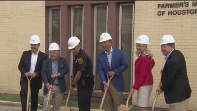 Empieza la remodelación de un mercado histórico en Houston para beneficiar a agricultores