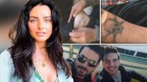 """""""¿Será que ya estoy señora?"""": Aislinn Derbez no entiende los tatuajes de """"carcelero"""" de sus hermanos"""