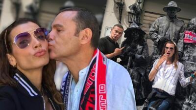 Alan Tacher y Cristy Bernal pasean su amor por Madrid: así de enamorados los hemos visto