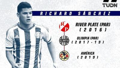 Infografía: Richard Sánchez, un tricampeón que llega a Coapa