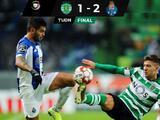 Con asistencia de Tecatito, Porto superó al Sporting