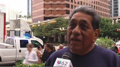 """""""Freedom Walk"""" recorre las calles de Austin para incentivar el voto latino en el 2020"""
