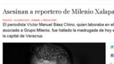 Asesinan a un periodista en el estado mexicano de Veracruz