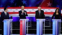 """""""Este partido refleja el cambio que está teniendo EEUU"""": así reaccionaron políticos al debate presidencial demócrata"""