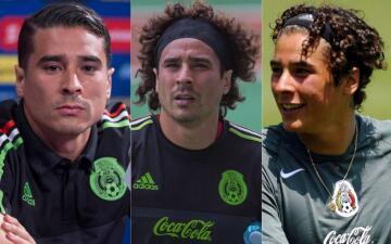 Los 'Memolooks': los cambios de peinado de Guillermo Ochoa en su carrera profesional