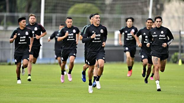 Funes Mori ya entrena con el Tri ¡de cara a su probable debut!