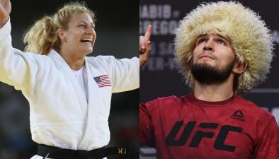 El coraje de Kayla Harrison al lanzar un reto a Khabib Nurmagomedov, verdugo de McGregor
