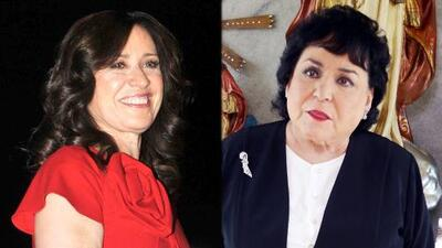"""María Rojo confiesa que tuvo diferencias con Carmen Salinas en una obra de teatro: """"Era muy difícil de llevar"""""""