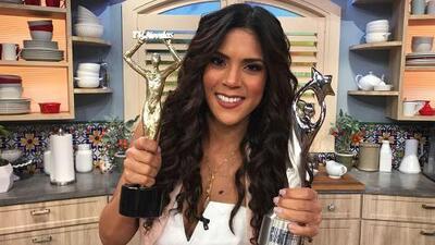 #DAImperdibles: Francisca Lachapel regresó a Despierta América doblemente premiada
