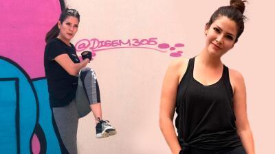 En fotos: Ana Patricia retomó la actividad física hace cuatro semanas y ya está viendo los resultados