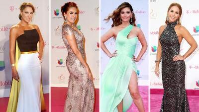 Desde reinas de belleza hasta estrellas de Hollywood: las mejor vestidas en la alfombra del Premio Lo Nuestro