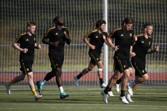 En fotos: Bélgica y Japón definirán en Rostov un nuevo clasificado a cuartos de final