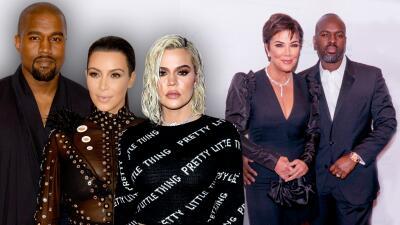"""A Kim y Khloé Kardashian (y hasta a Kanye West) les parece """"extraña"""" la actitud del novio de Kris Jenner"""