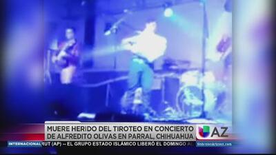Muere  uno de los heridos en concierto de Chihuaha