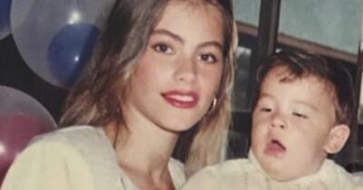 Esta foto esconde un desacuerdo entre Sofía Vergara y su hijo Manolo