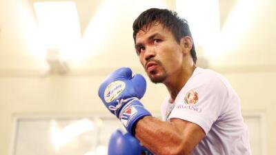 Manny Pacquiao expondrá el cetro welter de la OMB ante  Jeff Horn