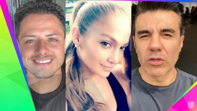 Jennifer Lopez, Adrián Uribe y otros famosos que inician 2018 estrenando romance