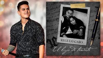 Régulo Caro lanzó su nuevo sencillo 'El lujo de tenerte' en una premier exclusiva de Uforia Music
