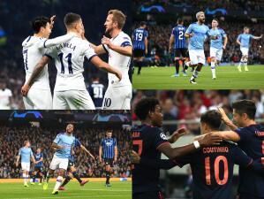 ¡Manchester City y Tottenham golean! Olympiacos cae en casa