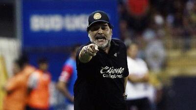 "Maradona: ""Si hoy creemos que estamos clasificados, estamos totalmente equivocados"""