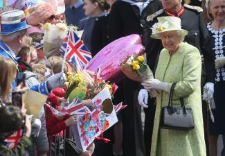 Festejos por el cumpleaños 90 de la Reina Isabel II