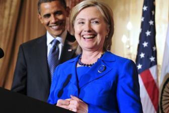 Obama y Hillary Clinton, los más admirados