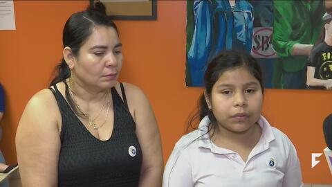 An 11-year-old girl set to be deported without her parents