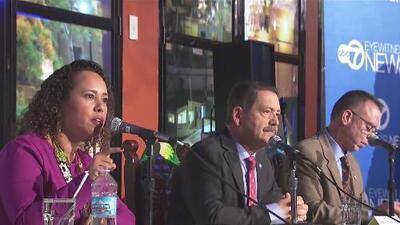 Aspirantes a la candidatura de congresista por el cuarto distrito debatieron sus propuestas