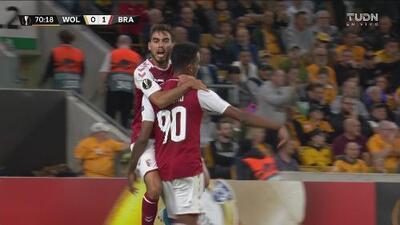¡Cazaron a los lobos! Wolverhampton pierde el balón en la salida y el Braga no le perdona