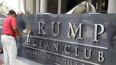 Trump's lawyers sought to influence President of Panama in hotel dispute