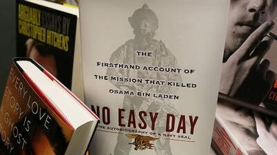 El ex Navy Seal que escribió un libro sobre la muerte de Bin Laden entregará las ganancias a EEUU