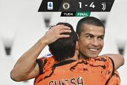 Reaparece Cristiano con doblete en triunfo de la Juventus
