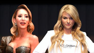 Irina Baeva dice que está lista para encontrarse cara a cara con Geraldine Bazán