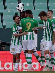 Real Betis se impone por la mínima a Huesca y ya está a un paso de la Europa League. Borja Iglesias, de penal, le dio la victoria a su equipo al minuto 57. Andres Guardado entro como cambio al minuto 82 del encuentro.