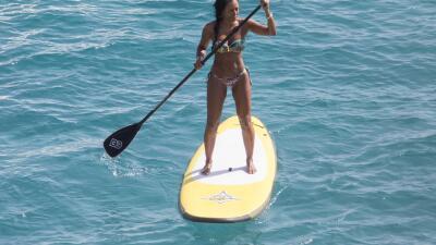 Mel B goza al máximo de sus vacaciones en Ibiza