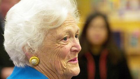 La comunidad de Houston se prepara para rendir homenaje a Barbara Bush
